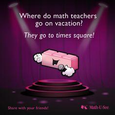 #MathJoke Funny Math Jokes, Math Humor, Teacher Humor, Math Teacher, Dad Jokes, Teacher Stuff, Math Cartoons, Math Comics, Teaching Memes