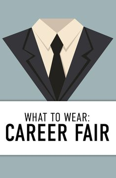 Get ready to meet, greet, network and look the part at your next career fair!