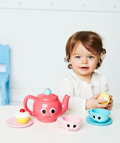 I'm shopping ELC My First Tea Set in the Mothercare iPad app. 1st Birthday Presents, Birthday Wishlist, 3rd Birthday, Baby Play, Imaginative Play, Toys Shop, Early Learning, Toddler Toys, Tea Set