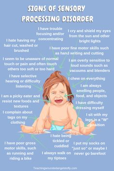 Is it Sensory Processing issues or ADHD. This is my quest to find out what was wrong with my toddler so I could get him the help that he needed. processing How to tell the difference between a Sensory Processing Disorder and ADHD Sensory Processing Disorder Toddler, Sensory Disorder, Auditory Processing Disorder, Autism Sensory, Sensory Activities, Sensory Play, Oral Motor Activities, Sensory Rooms, Therapy Activities