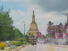 cool 10 Top Tourist Attractions in Myanmar ~ Columbus Travels Myanmar ( Burma ) Shwedagon Pagoda, Bay Of Bengal, Cruise Destinations, Buddhist Temple, Medieval Town, Beach Town, Along The Way, Travel Around The World