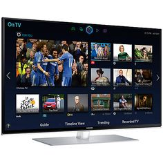 """Buy Samsung UE48H6700 LED HD 1080p 3D Smart TV, 48"""" with Freeview/Freesat HD, Voice Control and 2x 3D Glasses Online at johnlewis.com"""