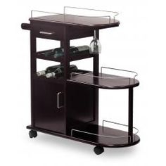 Winsome Entertainment Beverage Cart