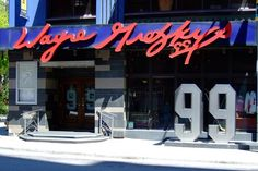 Wayne Gretzky's — Wayne Gretzky (Toronto, Ontario) — 20 Best Athlete-Owned Restaurants for 2013 Places To See, Places Ive Been, Wayne Gretzky, Big Country, Close To Home, Toronto Canada, Best Cities, Night Life, Ontario