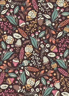 Sweet Flowers by Anna Deegan, via Behance