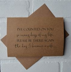 IVE COUNTED on YOU so many days of my life will you be my bridesmaid card maid of honor cards bridal party card wedding party card proposal Brides Maid Proposal, Bridesmaid Proposal Cards, Be My Bridesmaid Cards, Bridesmaid Boxes, Bridesmaid Dresses, Bridesmaid Gifts Will You Be My, Best Friend Bridesmaid, Wedding Proposals, Bridesmaid Bouquet
