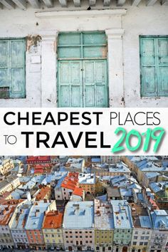 2019 list of the cheapest places to travel. Top 10 list of the most affordable d., TRAVEL, 2019 list of the cheapest places to travel. Top 10 list of the most affordable destinations to travel to in Cheap Travel, Budget Travel, Travel Tips, Travel Ideas, Travel Inspiration, Travelling Tips, Travel Goals, Travel Hacks, Spring Break Destinations