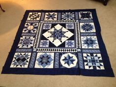 A quilt I am making.  I am very happy with how it is turning out.