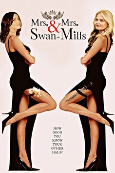 Awesome Regina and Emma in awesome art Mrs&Mrs Swan-Mills