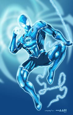 Blue Lantern Spider-Man
