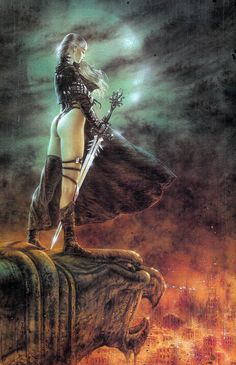 The Time Has Come - Luis Royo