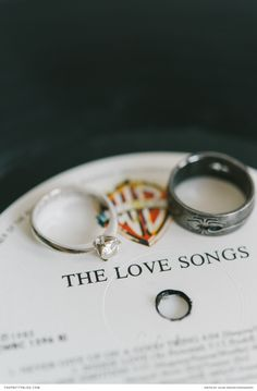 Quirky wedding ring photo idea! Louise Vorster Photography