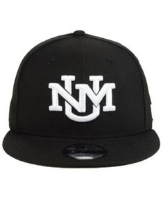 New Era New Mexico Lobos Black White Fashion 9FIFTY Snapback Cap 61089ca1c2d