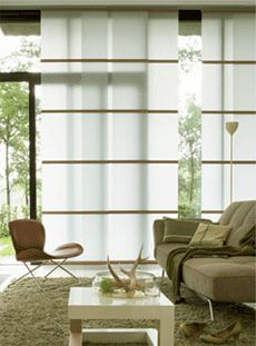 Luxaflex japanese design collection our most popular for Asian window coverings