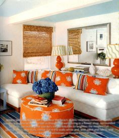 101 Best Orange Living Rooms Images Living Room Orange Modern