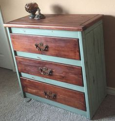 How to Turn an Old Dresser from Beaten to Beautiful!