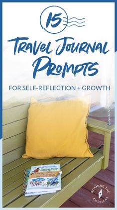 Writing a travel journal is one of the best ways to process your travel experiences ✈ and discover more about other cultures and yourself. Check out this this short list of travel journal 📔 prompts for self-reflection and growth. Travel Articles, Travel Tips, Travel Plan, Journal Writing Prompts, Meaningful Conversations, Coping With Stress, Kodak Moment, Responsible Travel, Space Travel