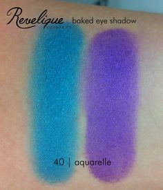 Revelique baked eye shadow 40 aquarelle #revelique #eyeshadow #baked #aquarelle