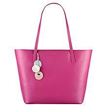 Buy Radley De Beauvoir Large Leather Tote, Pink Online at johnlewis.com