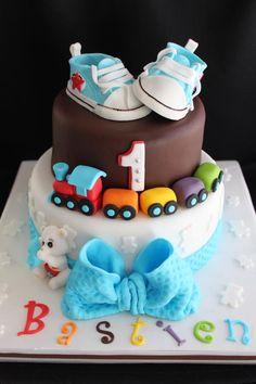 gâteau petit train