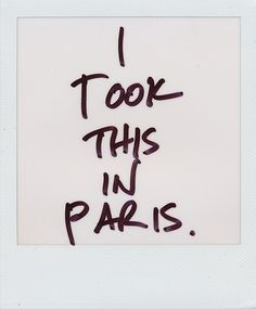 Would love to travel the world with just a Polaroid camera. Very candid.