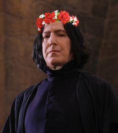 flower crown snape - Google Search