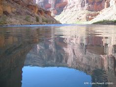 Lake Powell in better days. 2004