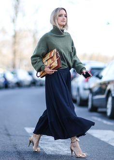 Best Paris Fashion Week Street Style Fall 17 |