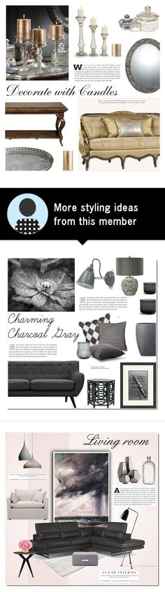 """""""decorate with candles"""" by cly88 on Polyvore featuring interior, interiors, interior design, home, home decor, interior decorating, Zodax, Home Decorators Collection, Quoizel and Royal Doulton"""