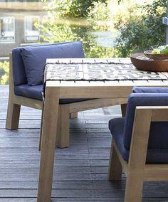 Ego Modular Lounge Concept In Aluminium - Teakwood | Outdoor ... Outdoor Lounge Vis A Vis