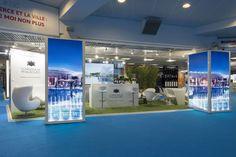 Conception stands d'exposition  La Compagnie de Phalsbourg présent sur le Mapic à Cannes