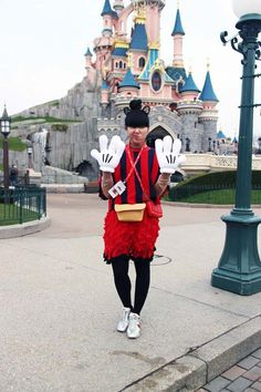 Susie Bubble at Disneyland