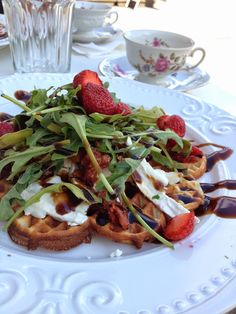 Tammisaari: Voffeli ja Kaffeli Finland, Waffles, French Toast, Breakfast, Summer, Food, Morning Coffee, Summer Time, Essen