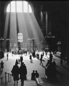 Penn Station, Manhattan, 1929.
