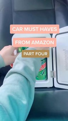 """Cute portable mini fridge it can store medications and skincare with ease; Inner dimensions are 5.5"""" x 5.3"""" x 8.07""""; The removable shelf makes small items like breast milk, skincare, cosmetic, food, or medications easy to separate, best gift for women and girls Car Life Hacks, Car Hacks, Useful Life Hacks, Camping Hacks, Best Amazon Buys, Best Amazon Products, Find Amazon, Cool Gadgets To Buy, Car Gadgets"""