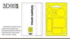 3D Gifts Cards - Container. Portofel. Ambalaj. Rigla... & Card Cadou !