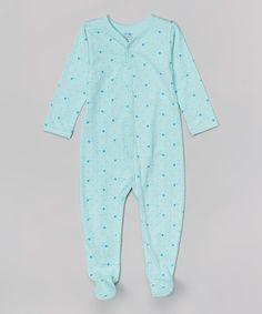 Look what I found on #zulily! Blue Star Organic Footie - Infant #zulilyfinds