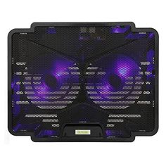 iKross Dual LED Cooling Pad Chill Mat with 140mm Fans fits up to 15.6 inch Laptop