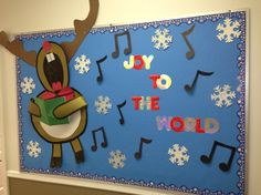 winter wonderland bulletin board ideas - Google Search