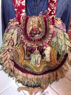 Beautiful-Genuine-MAGNOLIA-PEARL-Shoulder-Handbag-Very-Rare-And-Retired