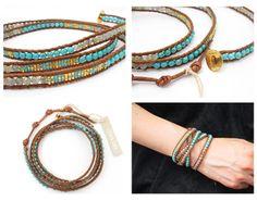 chan luu 5 wrap bracelet