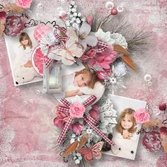 """Kit """" Rose Winter """" by Angel´s Designs @ Scrapbookbytes Photos by Sandra http://scrapbookbytes.com/store/manufacturers.php?manufacturerid=252"""