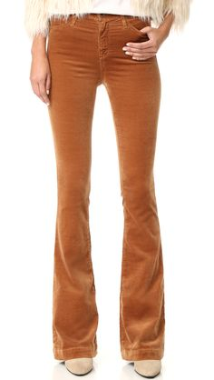 The Janis High Rise Flare Pants