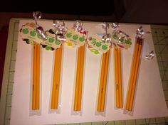 Pencil sets of two Back to school gifts
