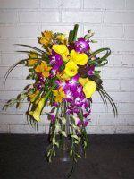 Bridal Bouquet-Tropical