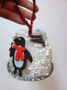 Childhood Beckons: Simple Homemade Ornaments