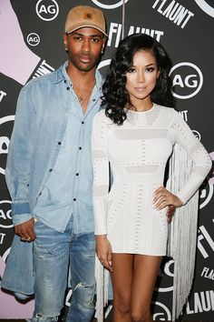Big Sean and Jhen Aiko attend the Flaunt Magazine and AG celebration Cute Celebrity Couples, Celebrity Style, Big Sean And Jhene, Black King And Queen, Girl Fashion, Fashion Outfits, Night Outfits, Fashion Trends, Jhene Aiko