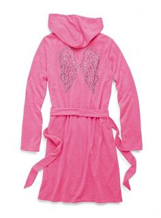French Terry Hooded Robe, $45.00, Victoria's Secret A.K.A...CUTEE!!!