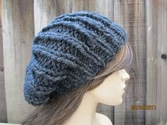 Basic Knitting Loom Instructions | Ribbed Flat Hat – Free Knitting Pattern for a Ribbed Hat Knit Flat