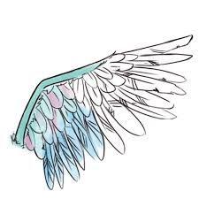 Resultado de imagen para dibujo ala pluma